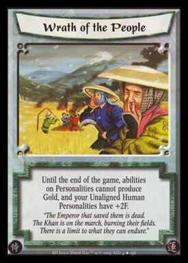 Wrath of the People-card