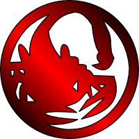 Image result for L5R Scorpion symbol