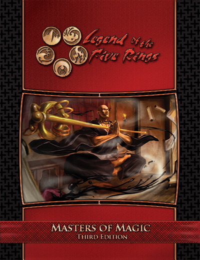 legend of the five rings books