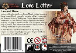 Love Letter back