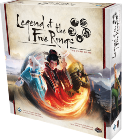 Legend of the Five Rings The Card Game cover