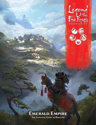 Emerald Empire - The Essential Guide to Rokugan - Cover