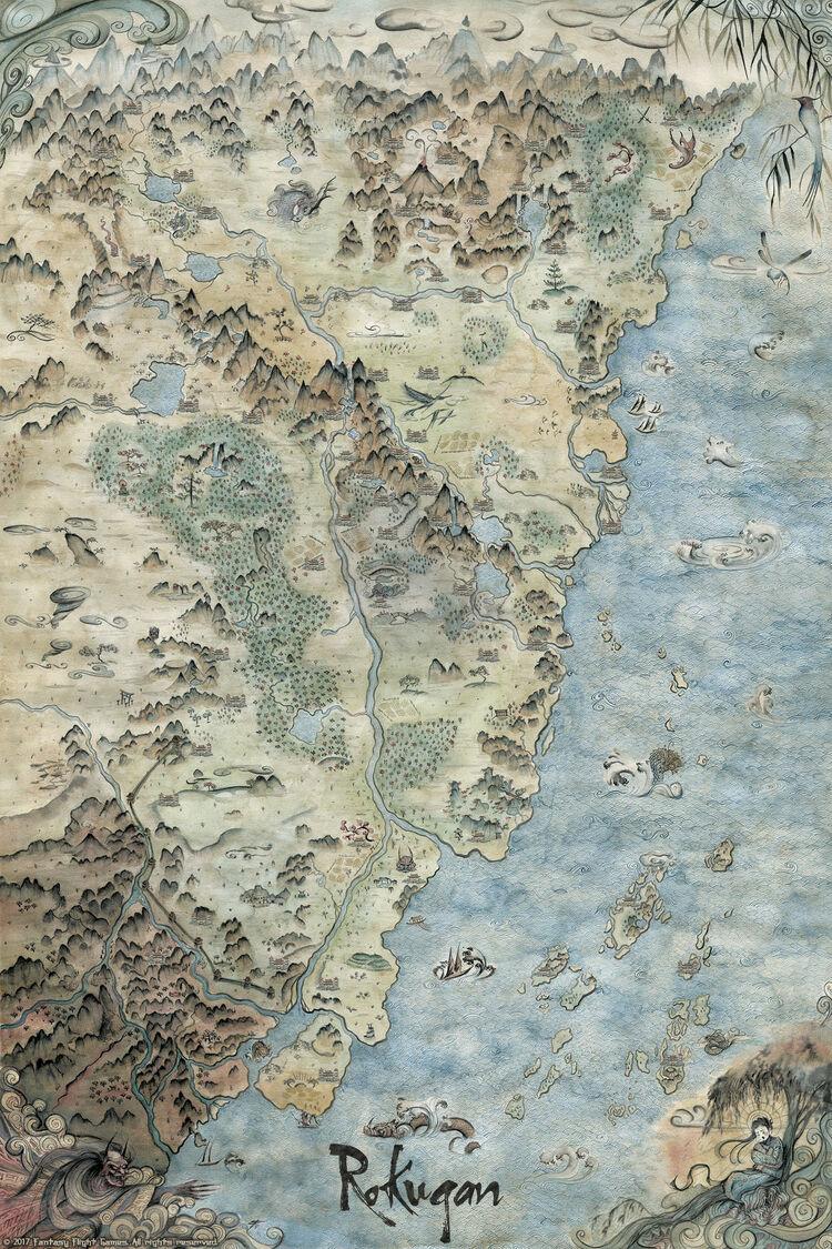 Battle for Rokugan Map