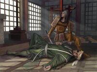 Toturi III is drugged