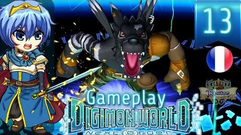 Let's Play FR Digimon World Next Order - Gameplay PS4 Français - WereGarurumon Noir 13