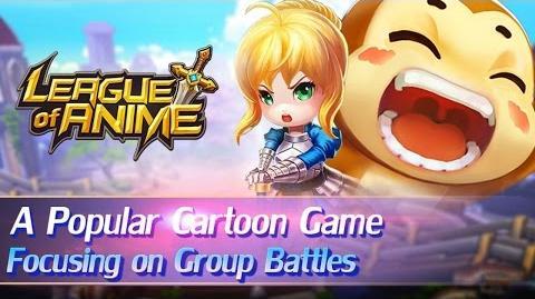 League of Anime - iOs Android