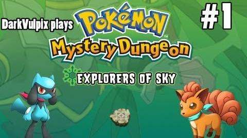 Let's Play - Pokemon Mystery Dungeon Explorers of Sky - Episode 1 A Storm at Sea