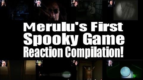 Merulu's First Spooky Game Reaction Compilation!