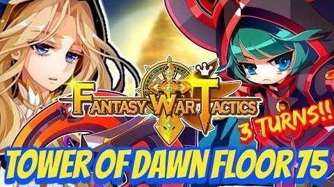 Fantasy War Tactics ToD 75 Tower of Dawn July