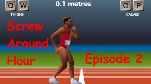 Screw Around Hour Episode 2 - QWOP (Asians and Bananas?)