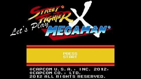 Let's Rage Street Fighter X Megaman