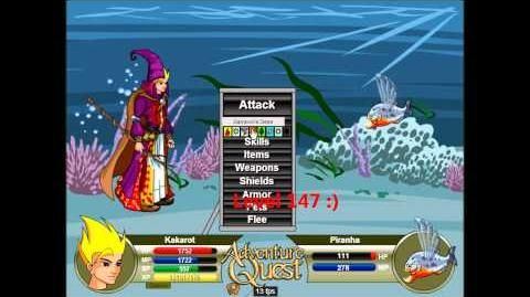 Adventure Quest Level 150 on an X-Guardian-0