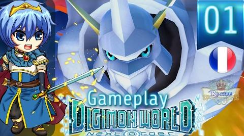 Let's Play FR Digimon World Next Order - Gameplay PS4 Français - OMEGAMON !