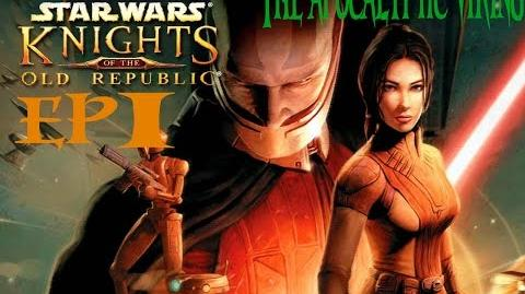 Nostalgia-gasms about! Starwars knights of the old republic EP 1