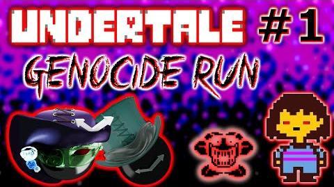 Kill Clock Apocalypse streams Undertale Genocide Run T.T (part 1)