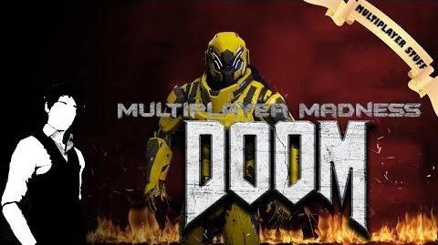 """Mustard Man Goes To Hell"" - Multiplayer Madness - DOOM (2016) Open Beta Gameplay PC"