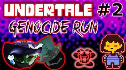 Kill Clock Apocalypse streams Undertale Genocide Run T.T (part 2)