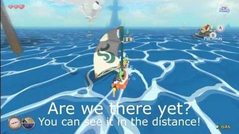 The Legend of Zelda Wind Waker HD Sailing Song