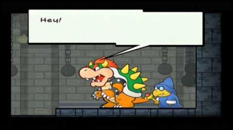 Let's Play Super Paper Mario 1 Rambling On And On