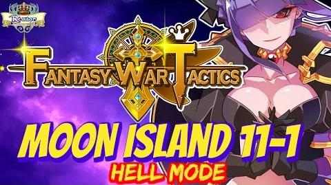 Fantasy War Tactics - Moon Island 11-1 Hell ! - FWT FR