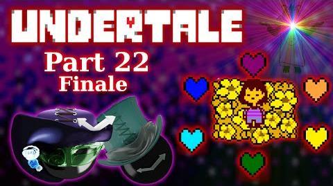 Undertale FINALE?! OMGHERD THE FEELS It's OVER 9000!! -part 22-
