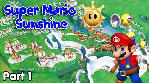 Super Mario Sunshine - 1. Dark Days in Delfino Island