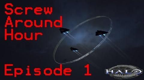 Screw Around Hour Episode 1 - Halo CE (Tanks, Zombies, and Orgy!)