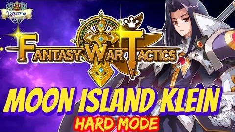 Fantasy War Tactics - Moon Island 11-3 Hard Klein ! - FWT FR