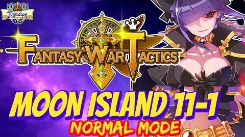 Fantasy War Tactics - Moon Island 11-1 Normal - FWT FR