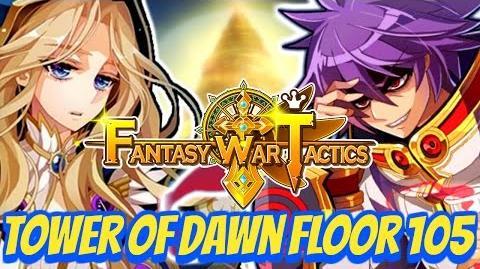 Fantasy War Tactics ToD 105 Tower of Dawn July