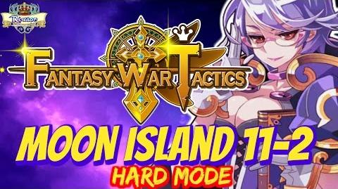 Fantasy War Tactics - Moon Island 11-2 Hard Hella ! - FWT FR