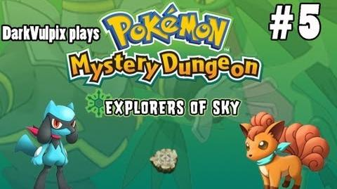 Let's Play - Pokemon Mystery Dungeon Explorers of Sky - Episode 5 The Time Gears