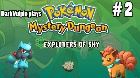 Let's Play - Pokemon Mystery Dungeon Explorers of Sky - Episode 2 The New Guild Recruits
