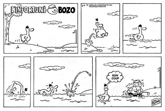 Infortuné Bozo le soleil 18-4-1969