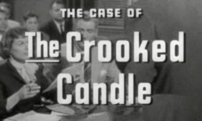 Case of the Crooked Candle' (1957) tv