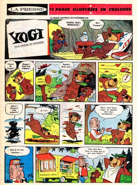 Yogi couverture