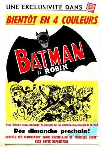 Annonce batman ddh