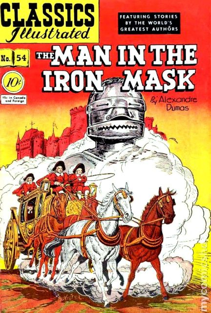 Man iron mask CI-54