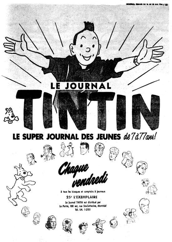 Tintin 23-29-5-1963