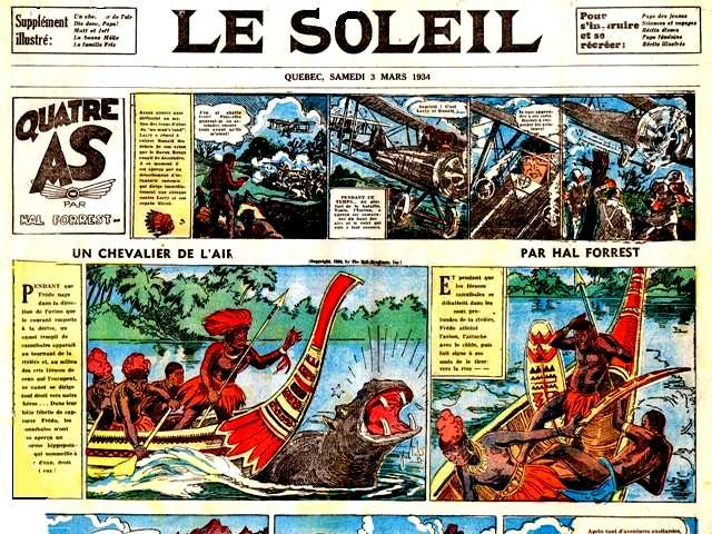 Quatre AS Le soleil 3 mars 1934