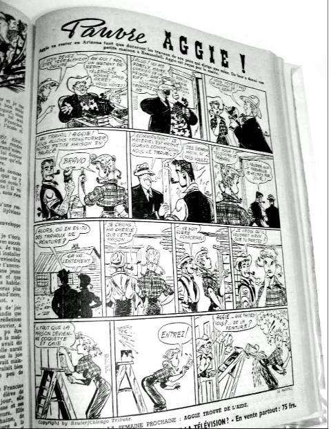 Aggie Fillette 1951