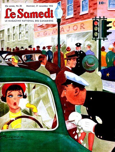Le Samedi 21-11-1953