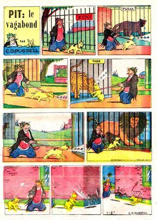 Pite le vagabond 26-4-1958