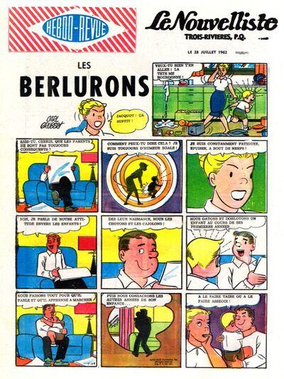 Les berlurons 28-7-1962