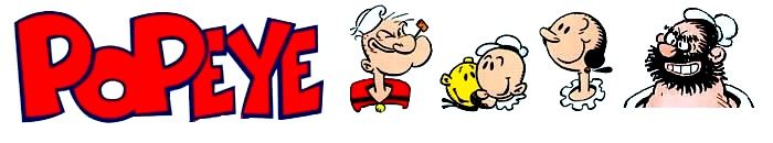 Popeye Sailor Man Logo