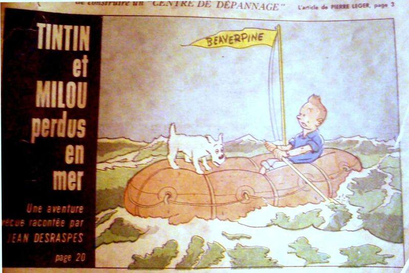 Tintin couleur