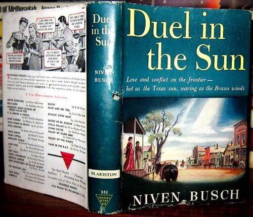 Duel in the sun livre b