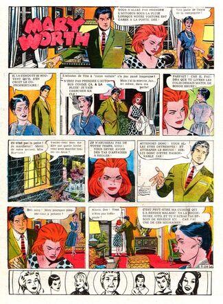Mary worth 28-7-1962
