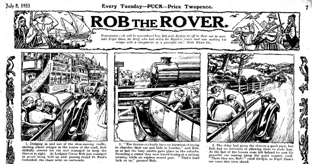 Rob the rover UK
