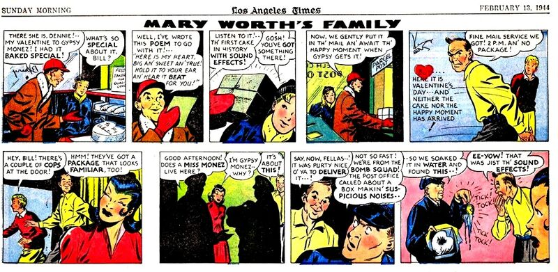 Mary worth 13-2-1944